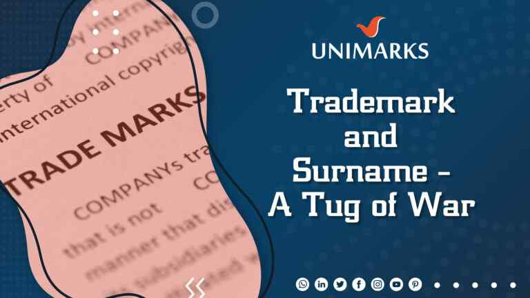 trademark-and-surname