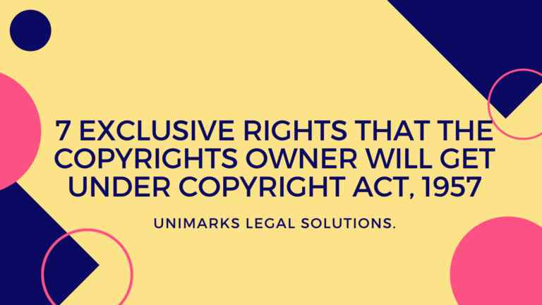 7-exclusive-rights-copyrights-owner-will-get-copyright-act-1957
