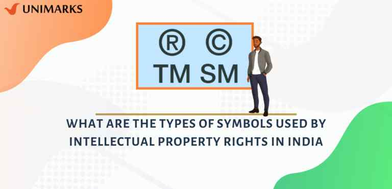 What are the types of Symbols used by Intellectual Property rights in India